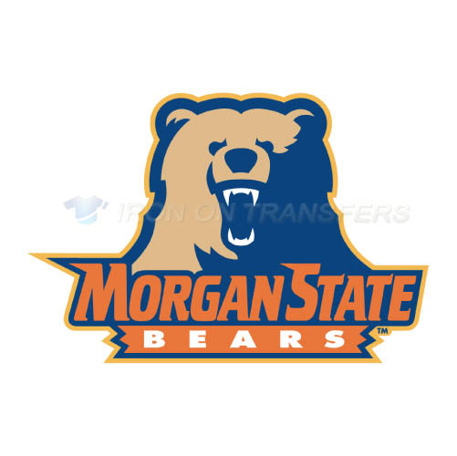 Morgan State Bears Iron-on Stickers (Heat Transfers)NO.5198