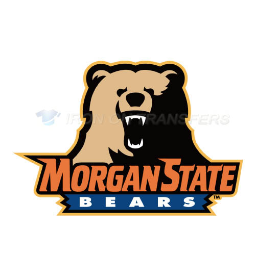 Morgan State Bears Iron-on Stickers (Heat Transfers)NO.5200