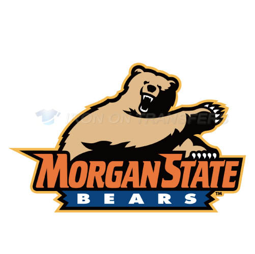 Morgan State Bears Iron-on Stickers (Heat Transfers)NO.5201