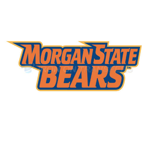 Morgan State Bears Iron-on Stickers (Heat Transfers)NO.5202