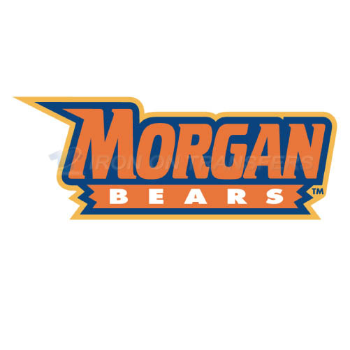 Morgan State Bears Iron-on Stickers (Heat Transfers)NO.5203