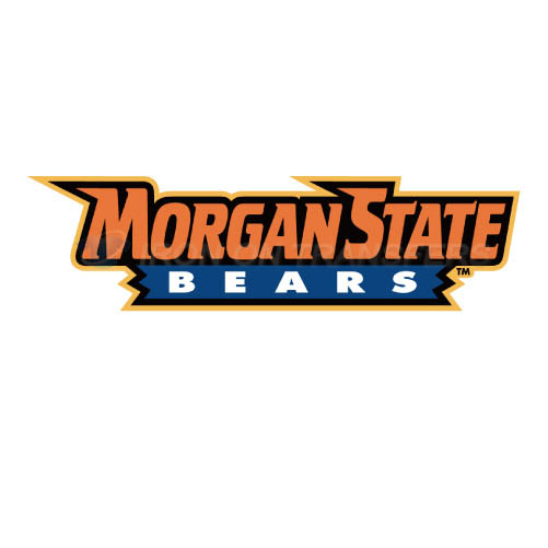 Morgan State Bears Iron-on Stickers (Heat Transfers)NO.5204