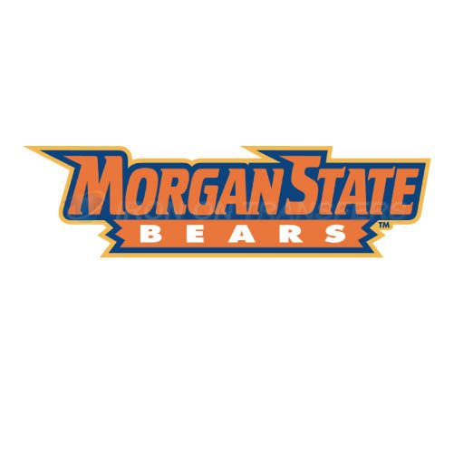 Morgan State Bears Iron-on Stickers (Heat Transfers)NO.5205