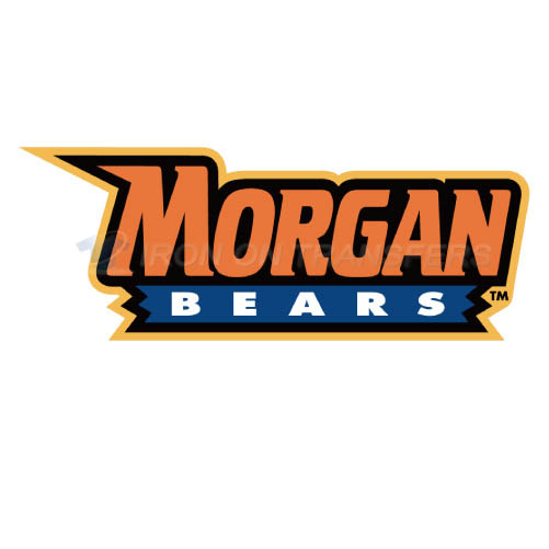 Morgan State Bears Iron-on Stickers (Heat Transfers)NO.5206