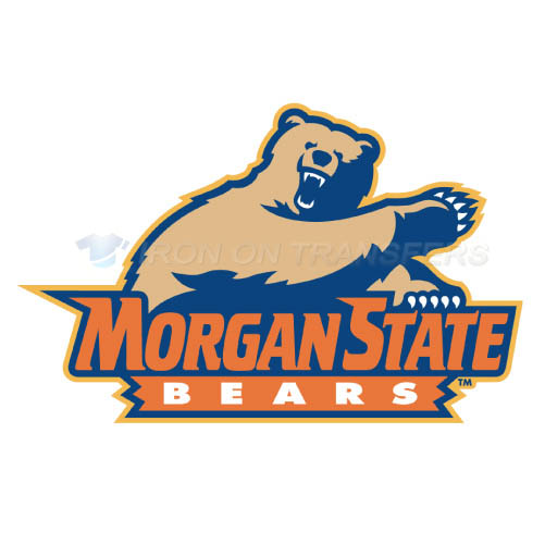 Morgan State Bears Iron-on Stickers (Heat Transfers)NO.5208