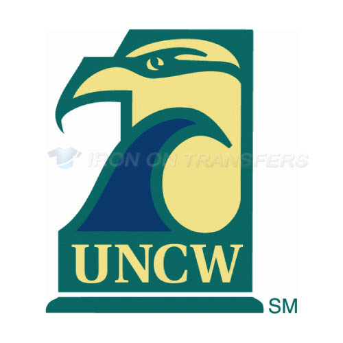 NC Wilmington Seahawks Iron-on Stickers (Heat Transfers)NO.5366
