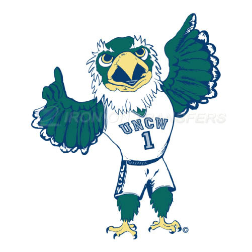 NC Wilmington Seahawks Iron-on Stickers (Heat Transfers)NO.5367