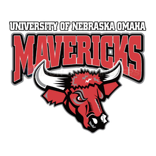 Nebraska Omaha Mavericks Iron-on Stickers (Heat Transfers)NO.5388