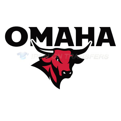 Nebraska Omaha Mavericks Iron-on Stickers (Heat Transfers)NO.5393