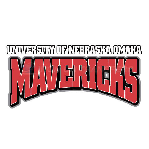 Nebraska Omaha Mavericks Iron-on Stickers (Heat Transfers)NO.5397
