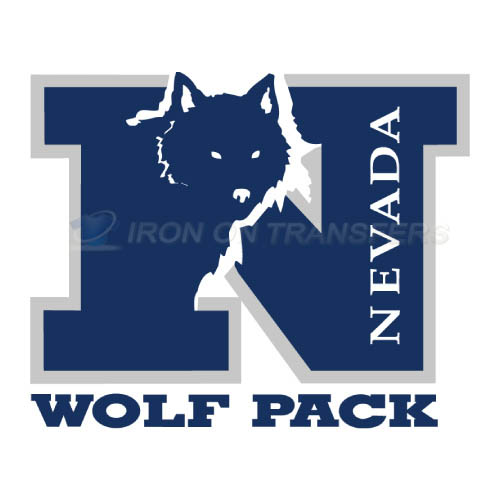 Nevada Wolf Pack Iron-on Stickers (Heat Transfers)NO.5401