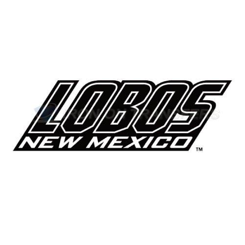 New Mexico Lobos Iron-on Stickers (Heat Transfers)NO.5424