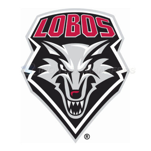 New Mexico Lobos Iron-on Stickers (Heat Transfers)NO.5425