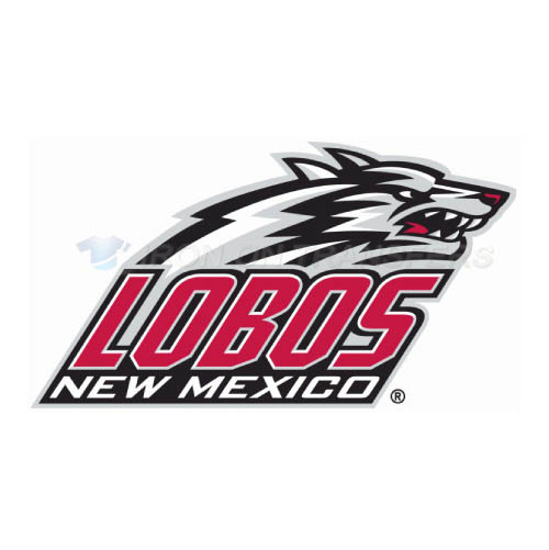 New Mexico Lobos Iron-on Stickers (Heat Transfers)NO.5427