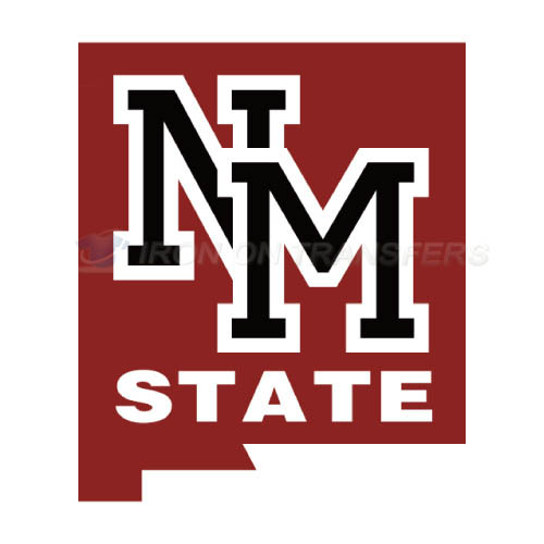 New Mexico State Aggies Iron-on Stickers (Heat Transfers)NO.5432