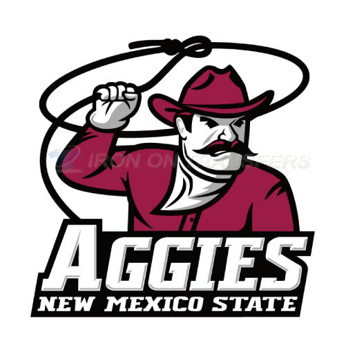 New Mexico State Aggies Iron-on Stickers (Heat Transfers)NO.5433