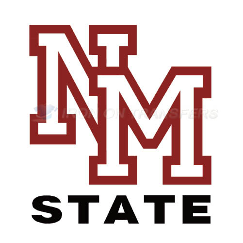 New Mexico State Aggies Iron-on Stickers (Heat Transfers)NO.5435