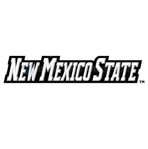 New Mexico State Aggies Iron-on Stickers (Heat Transfers)NO.5437