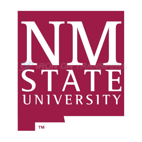 New Mexico State Aggies Iron-on Stickers (Heat Transfers)NO.5439