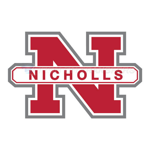 Nicholls State Colonels Iron-on Stickers (Heat Transfers)NO.5458