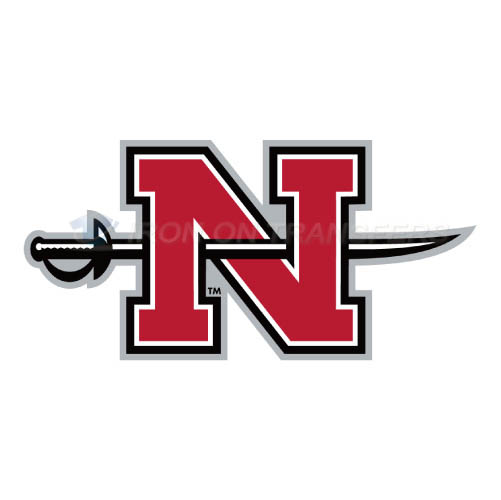 Nicholls State Colonels Iron-on Stickers (Heat Transfers)NO.5460