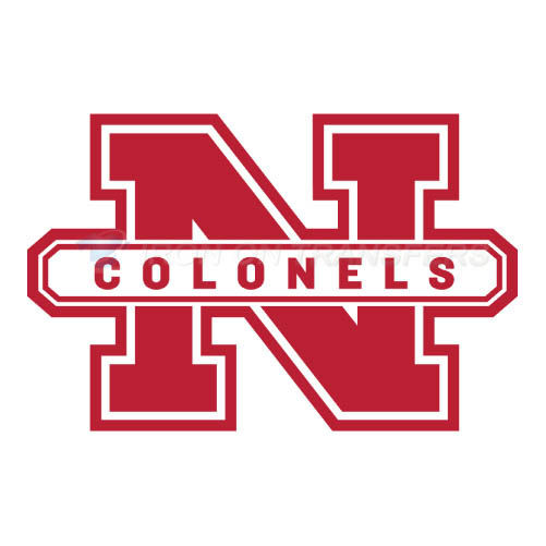 Nicholls State Colonels Iron-on Stickers (Heat Transfers)NO.5464