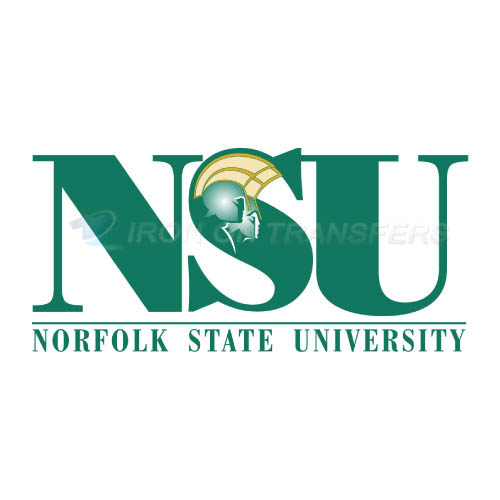 Norfolk State Spartans Iron-on Stickers (Heat Transfers)NO.5471