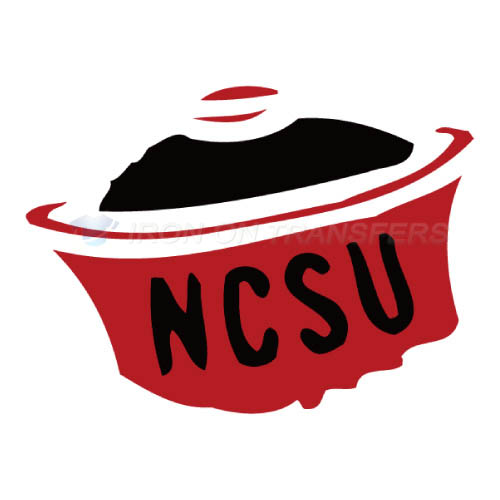 North Carolina State Wolfpack Iron-on Stickers (Heat Transfers)NO.5489