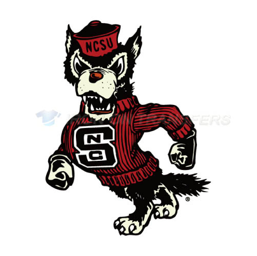 North Carolina State Wolfpack Iron-on Stickers (Heat Transfers)NO.5491