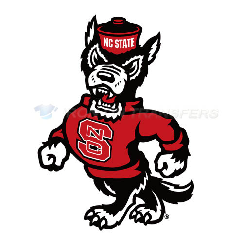 North Carolina State Wolfpack Iron-on Stickers (Heat Transfers)NO.5494