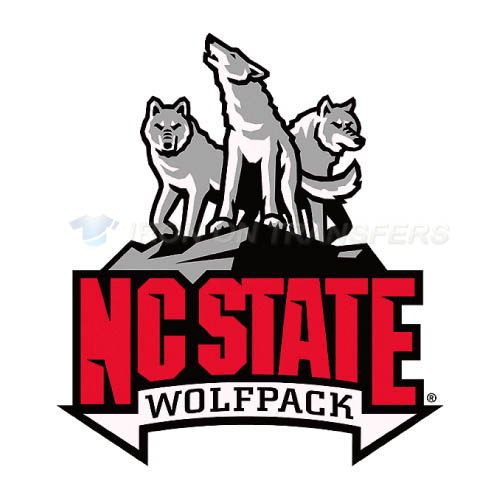 North Carolina State Wolfpack Iron-on Stickers (Heat Transfers)NO.5509