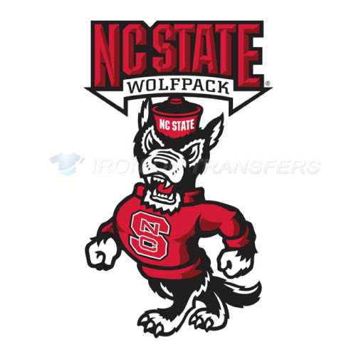 North Carolina State Wolfpack Iron-on Stickers (Heat Transfers)NO.5514