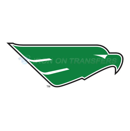 North Texas Mean Green Iron-on Stickers (Heat Transfers)NO.5617