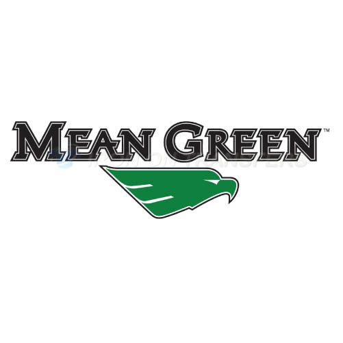 North Texas Mean Green Iron-on Stickers (Heat Transfers)NO.5618