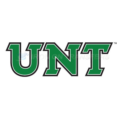 North Texas Mean Green Iron-on Stickers (Heat Transfers)NO.5619
