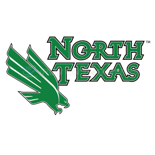 North Texas Mean Green Iron-on Stickers (Heat Transfers)NO.5620