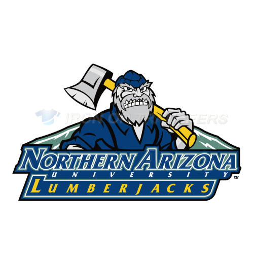 Northern Arizona Lumberjacks Iron-on Stickers (Heat Transfers)NO.5645