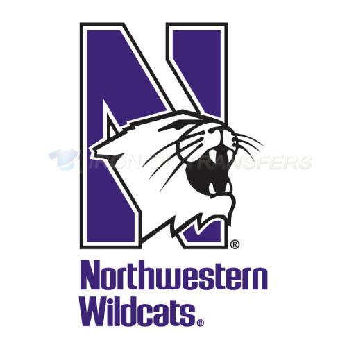 Northwestern Wildcats Iron-on Stickers (Heat Transfers)NO.5700