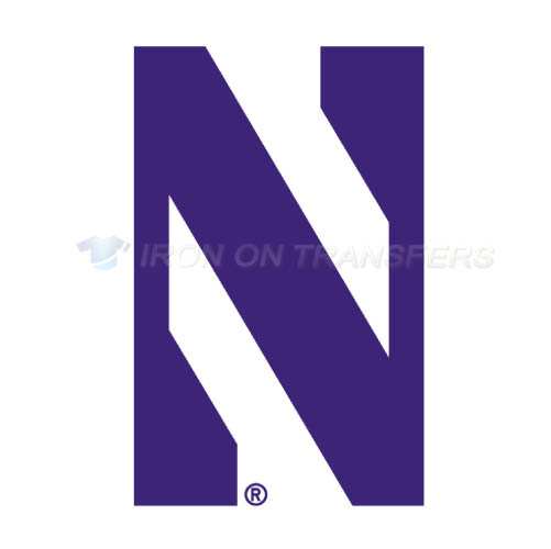 Northwestern Wildcats Iron-on Stickers (Heat Transfers)NO.5702