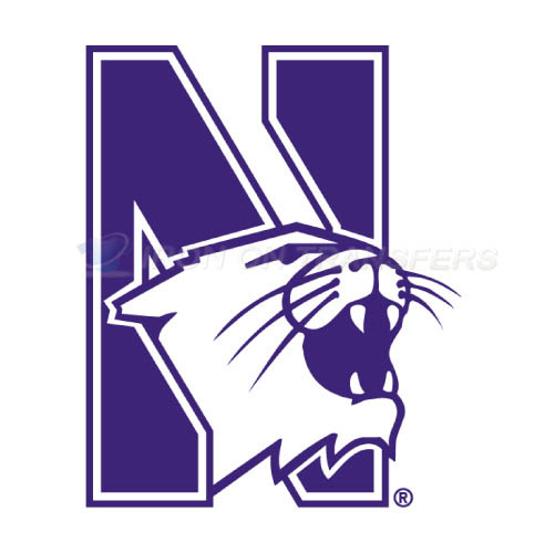 Northwestern Wildcats Iron-on Stickers (Heat Transfers)NO.5703