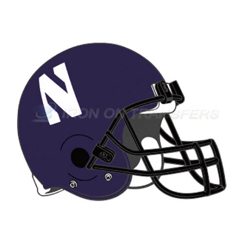 Northwestern Wildcats Iron-on Stickers (Heat Transfers)NO.5707