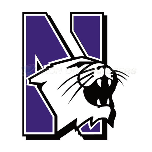 Northwestern Wildcats Iron-on Stickers (Heat Transfers)NO.5708