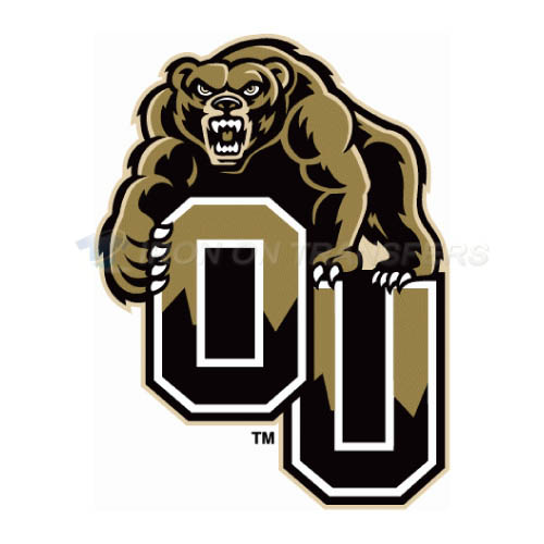Oakland Golden Grizzlies Iron-on Stickers (Heat Transfers)NO.5732