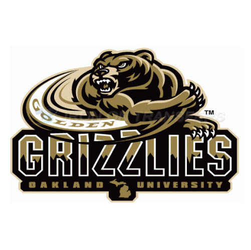 Oakland Golden Grizzlies Iron-on Stickers (Heat Transfers)NO.5733