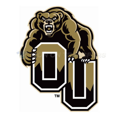 Oakland Golden Grizzlies Iron-on Stickers (Heat Transfers)NO.5735