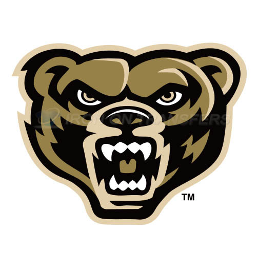 Oakland Golden Grizzlies Iron-on Stickers (Heat Transfers)NO.5736