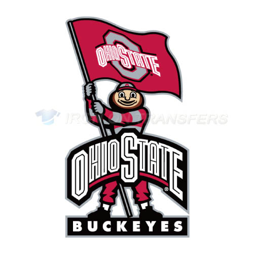 Ohio State Buckeyes Iron-on Stickers (Heat Transfers)NO.5744