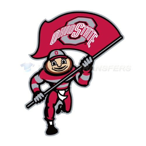 Ohio State Buckeyes Iron-on Stickers (Heat Transfers)NO.5749