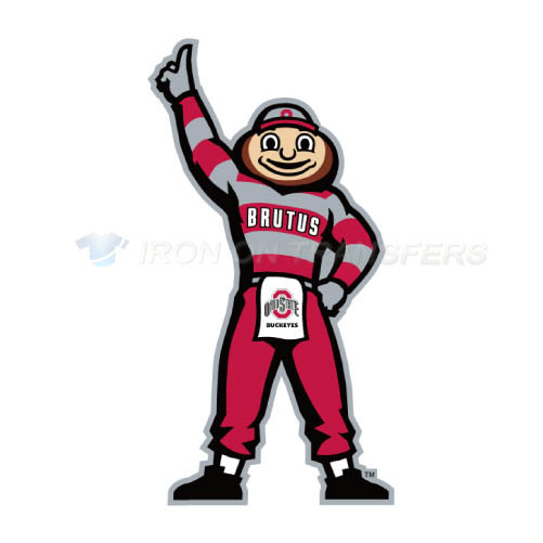 Ohio State Buckeyes Iron-on Stickers (Heat Transfers)NO.5756