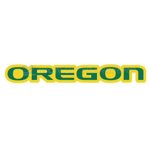 Oregon Ducks Iron-on Stickers (Heat Transfers)NO.5805